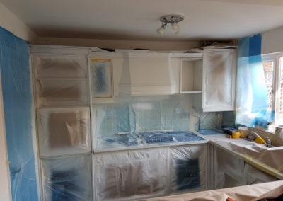 kitchen spray painting gillingham 6
