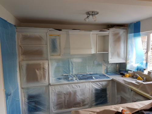 Kitchen Spray Painting | Rainham | Gillingham | Strood